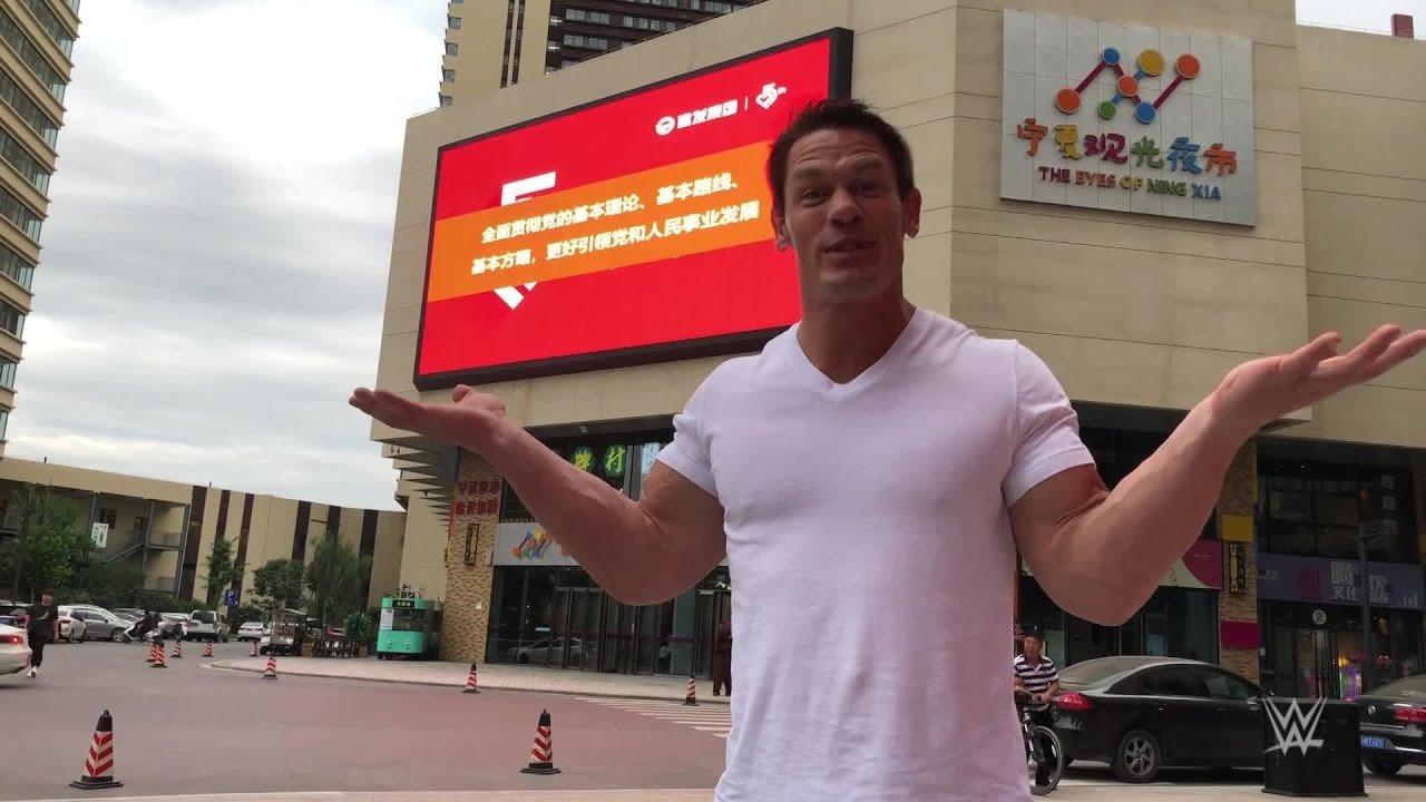 John Cena China Gaffe Continues